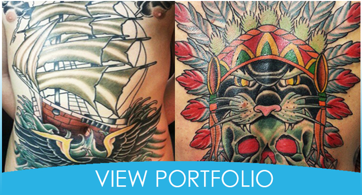 Kevin Byers's tattoo portfolio at Empire Tattoo Newark Ohio